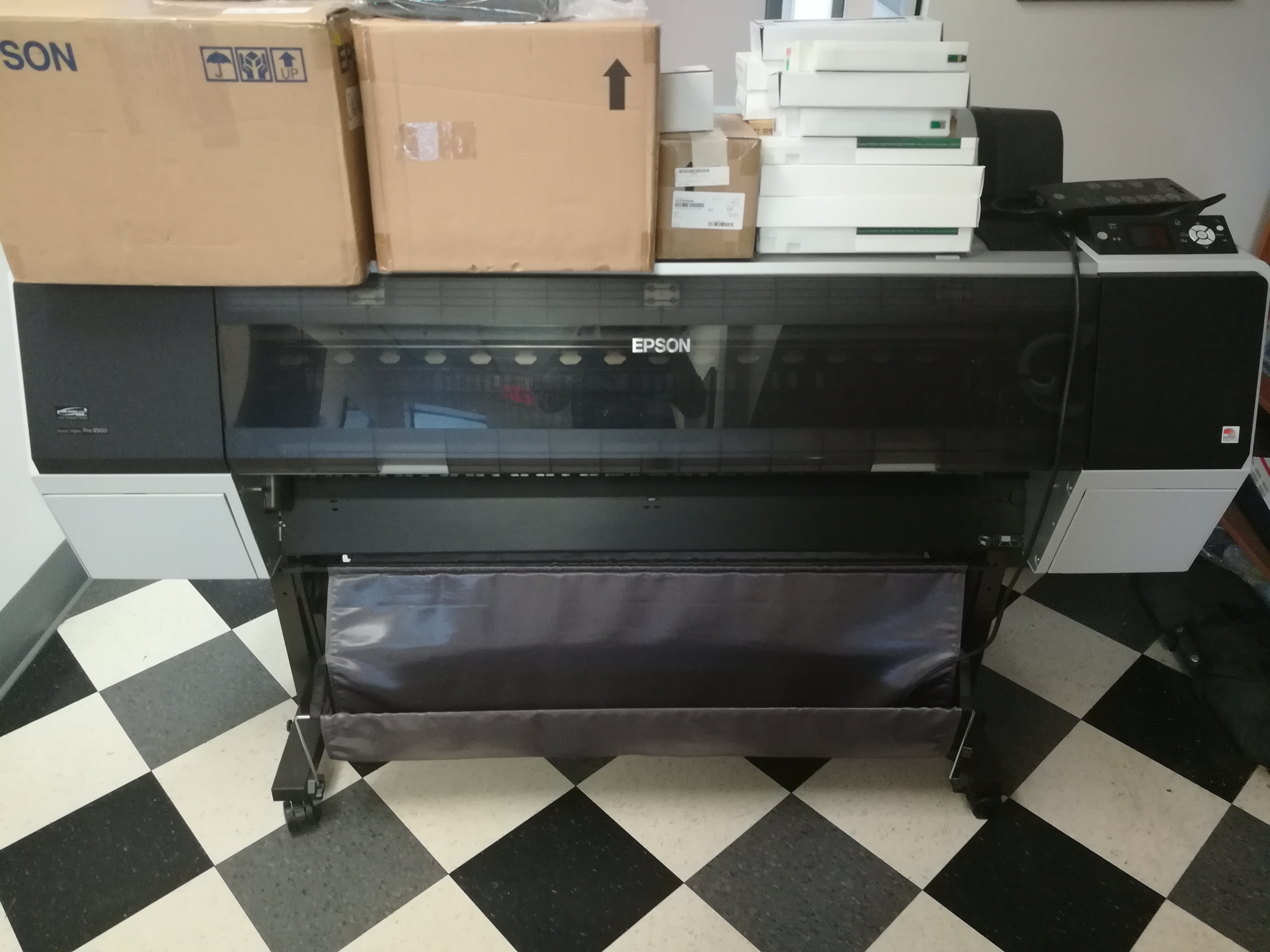 "For Sale: Epson Stylus Pro 9900 44"" Wide Format Printer 
