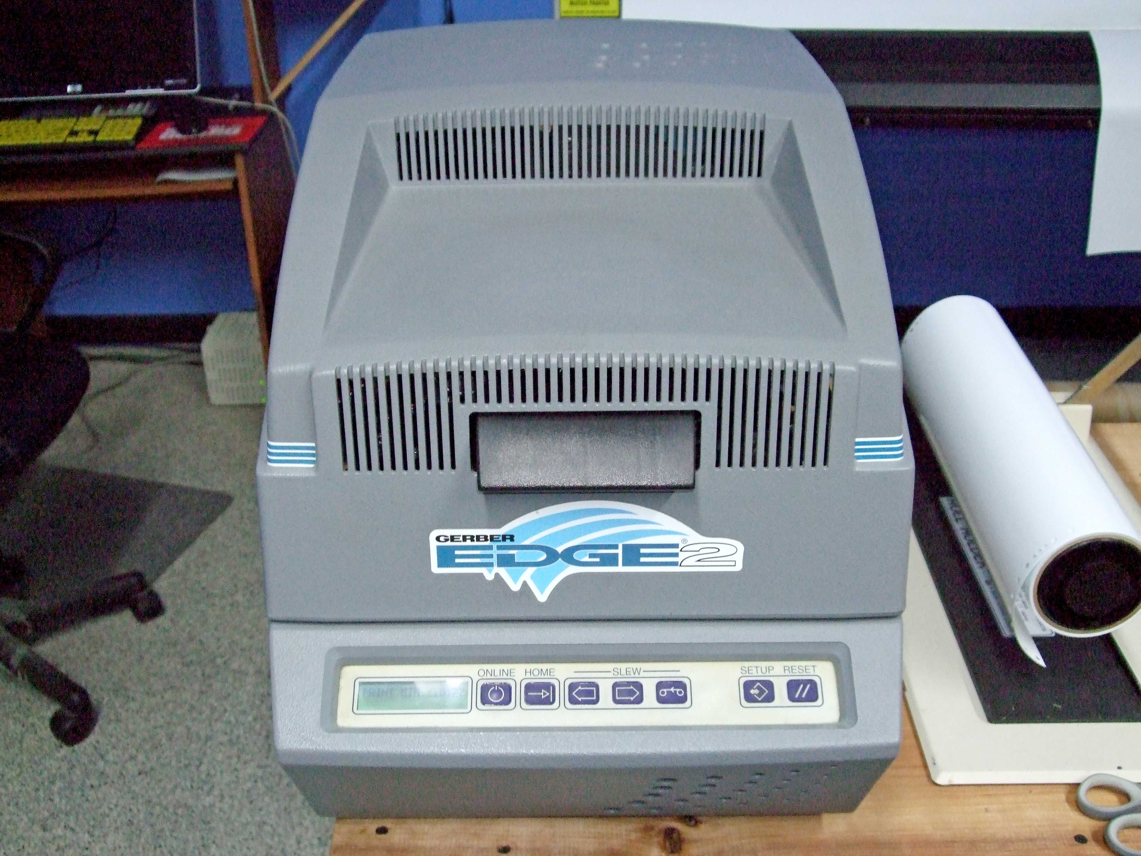 Gerber Edge 2 thermal printer   Signs101 com: Largest Forum