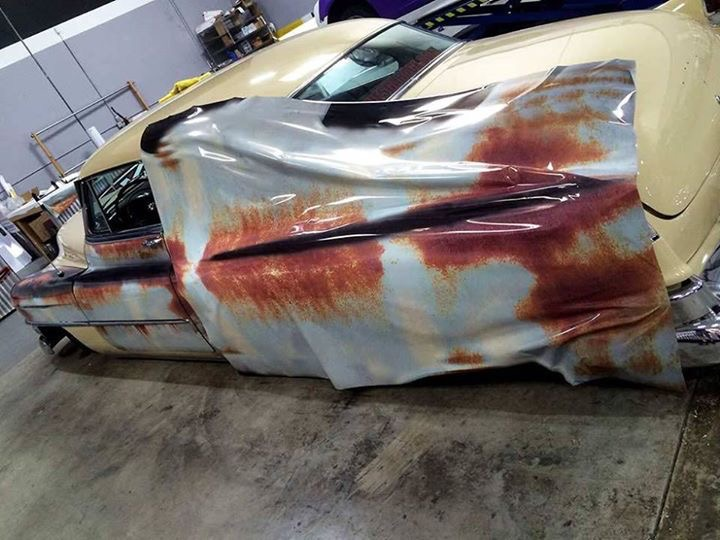 Rust Patina Wrap how to | Signs101 com: Largest Forum for