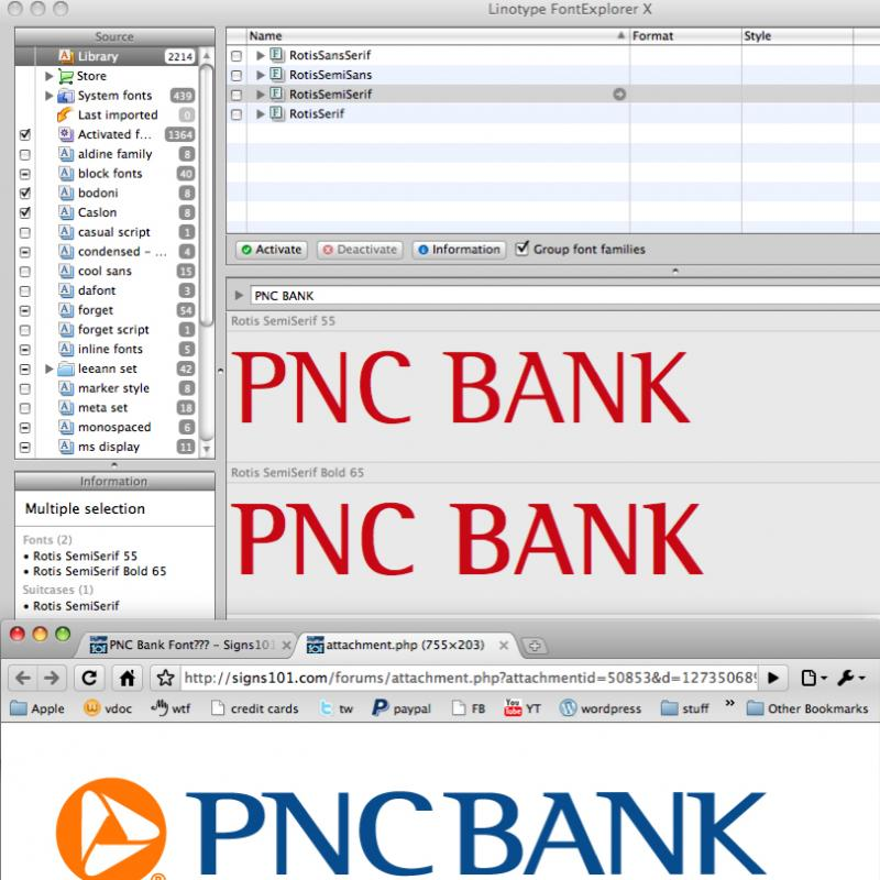 PNC Bank Font??? | Signs101 com: Largest Forum for